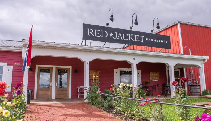 Exterior of Red Jacket Orchards in Geneva