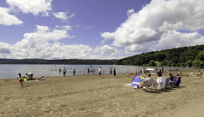 Glimmerglass State Park - Beach - Photo Courtesy of NYS Parks