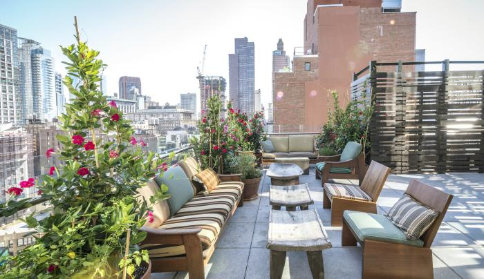 Good Behavior Rooftop Outdoor Seating