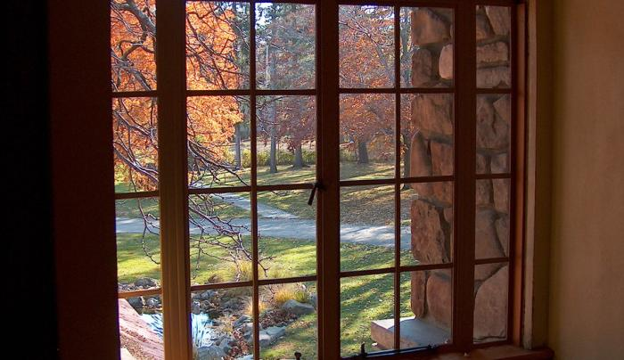 Graycliff Diamond Window Autumn