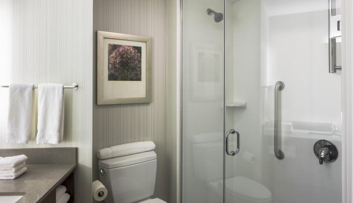 Hilton Garden Inn New York Long Island City/Manhattan View Guest Bath
