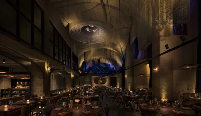 Cathedrale dining room