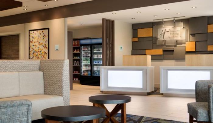 Holiday Inn Express Oneonta Lobby