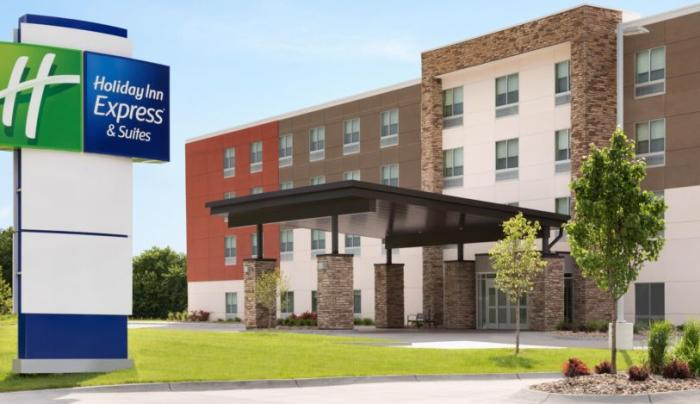 Holiday Inn Express Oneonta Exterior