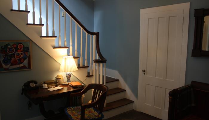 Edna St Vincent Millay's Steepletop - interior
