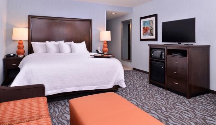 Hampton Inn Rome guest room