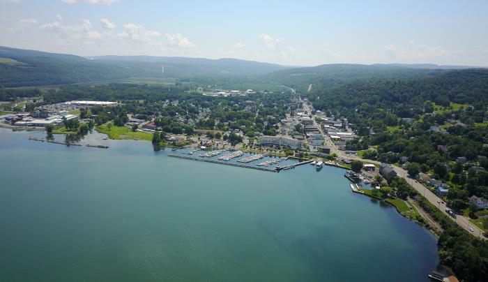 Finger Lakes HeliTours aerial view