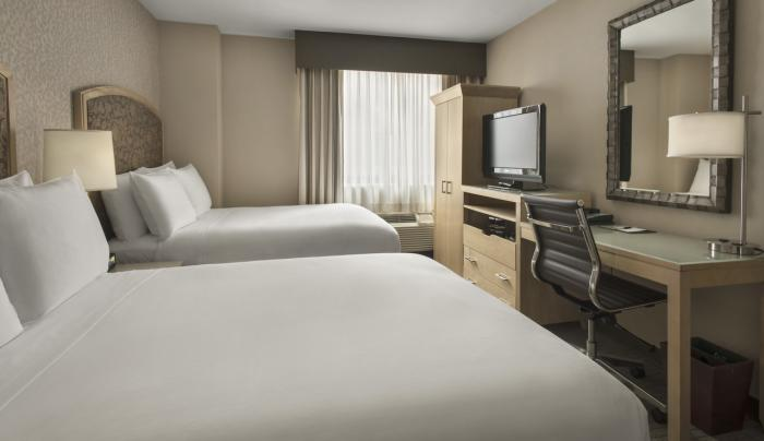 DoubleTree by Hilton Hotel New York City 2 Double Beds at DoubleTree by Hilton