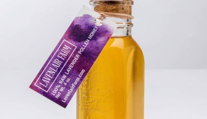 Raw Lavender Pollen Honey