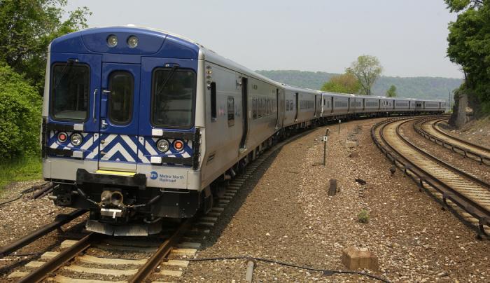 Hudson Line Courtesy of MTA Metro-North Railroad - Photo by Frank English