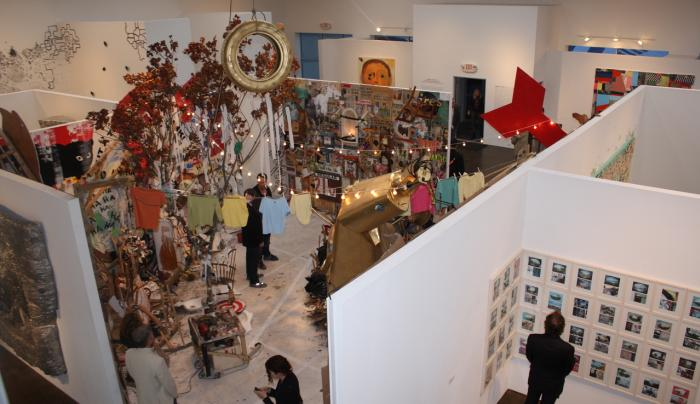 Hudson Valley Center for Contemporary Art  - HabernyHVCCA_12. - Photo by Howard Goodman - Courtesy o