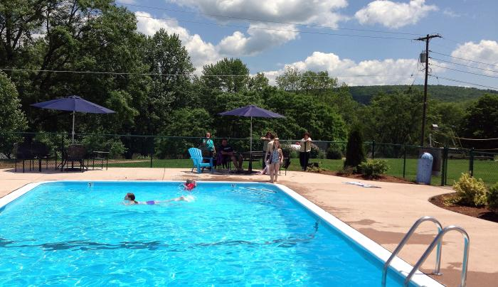 Swimming Pool at Tall Pines Campground NY