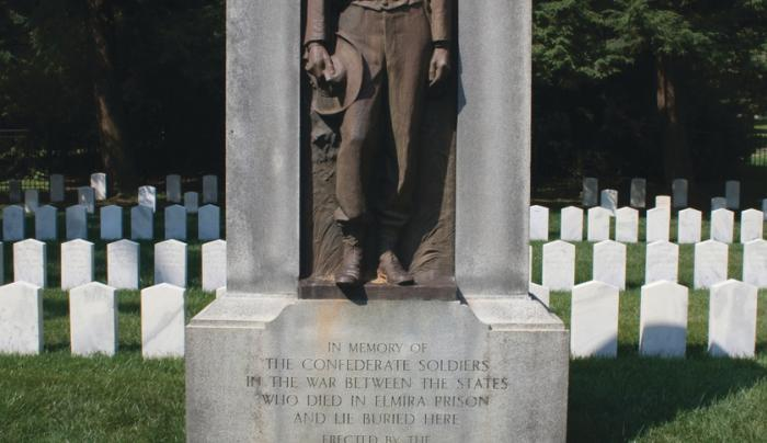 Confederate memorial placed by Daughter's of the Confederacy