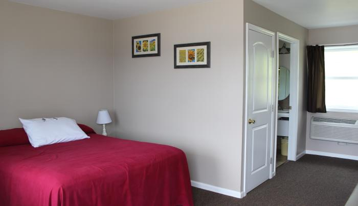 Clean, cozy rooms that are newly renovated!