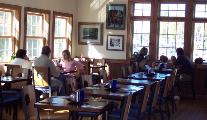 Putlneyville Grill Inside