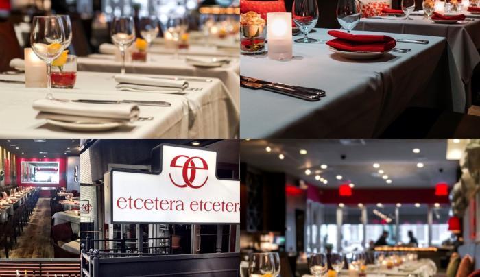Main Dining Room at Etcetera Etcetera Restaurant