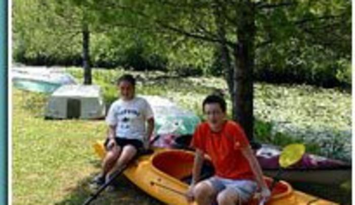 Interlake - kayak