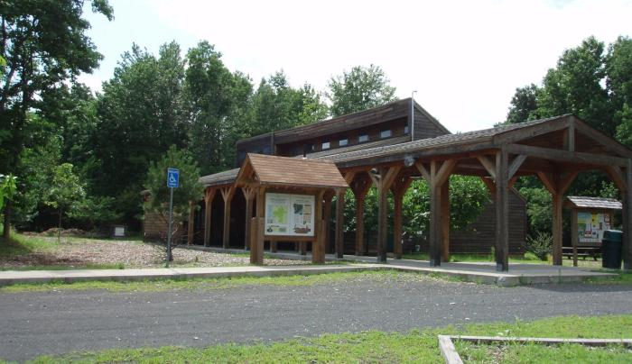 Interpretive Center at Clay Pit Ponds State Park Preserve