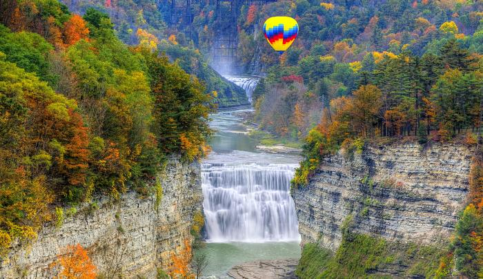 Letchworth State Park, Photographer Jim Vallee