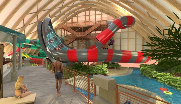 Waterpark rendering