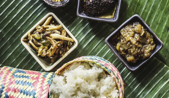 Sticky Rice & Sauces