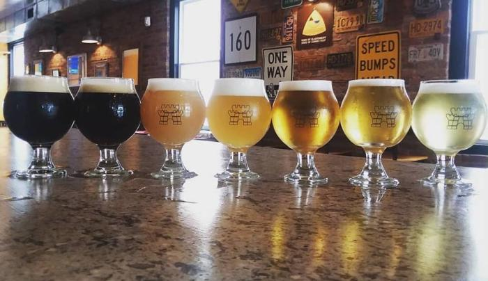 KKB Sept 2018 Rainbow of Beer