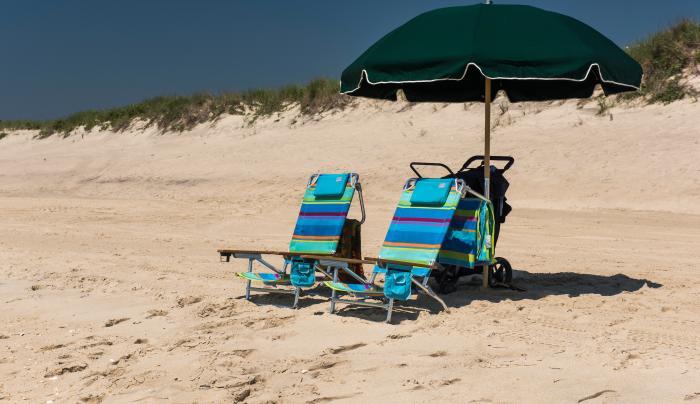 Coopers Beach in the Hamptons
