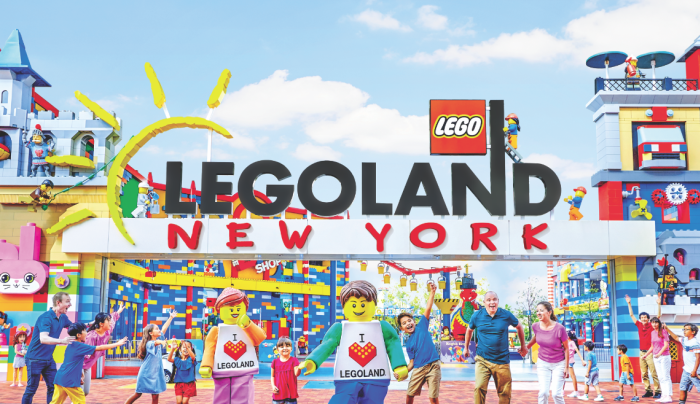 Legoland New York Entrance
