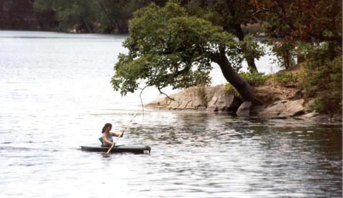 Lake Taghkanic State Park - kayak