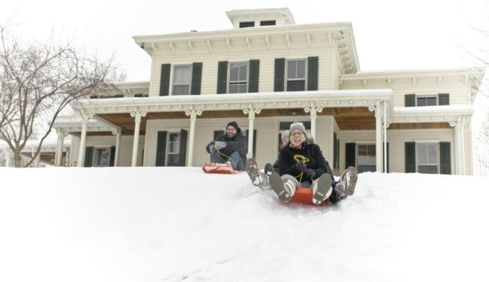 Art Omi - Ledig House winter