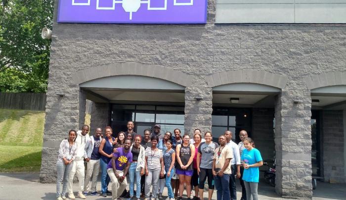 Mandela Fellows visit Skä•noñh
