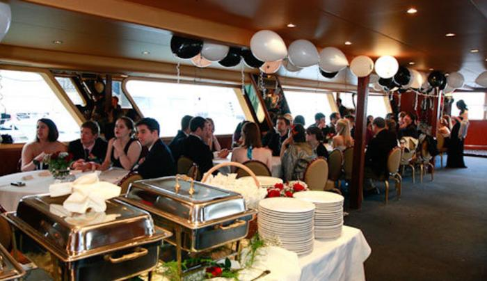 Hudson Cruises Marika interior event