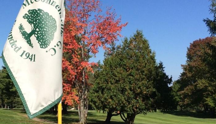 McConnellsville Golf Club flag