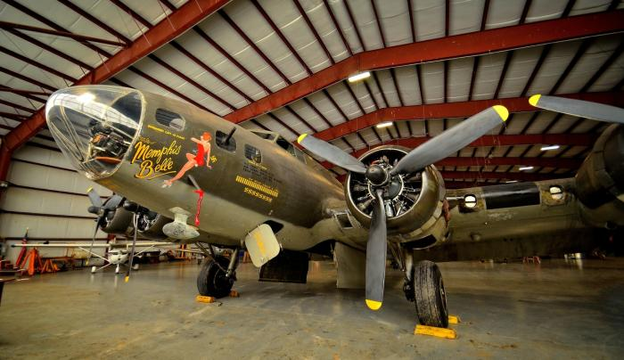 National Warplane Museum - Memphis Belle