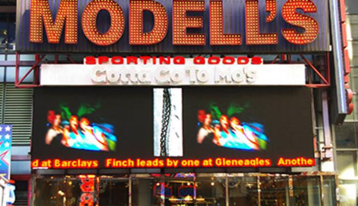 NYS Feed - Modell's Sporting Goods - Times Square