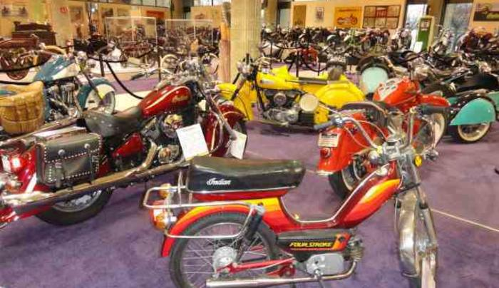 Motorcyclepedia Museum Display