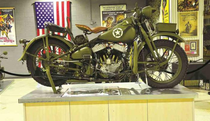 Motorcyclepedia Museum Exhibit