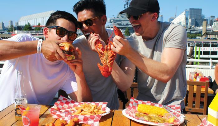 North River Lobster Company Lobster Dinner Fun