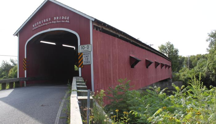 Buskirk Covered Bridge entry