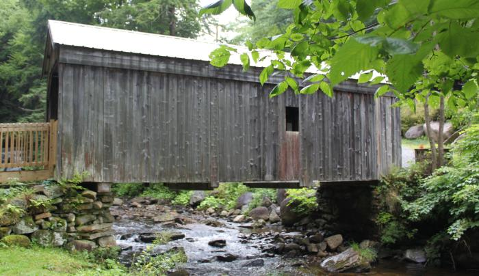 Copeland Covered Bridge summer