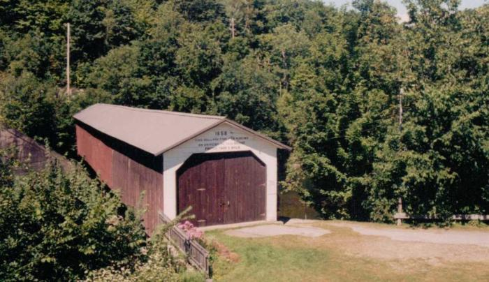 Shushan Covered Bridge