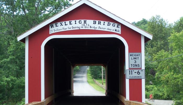 Rexleigh Covered Bridge entry