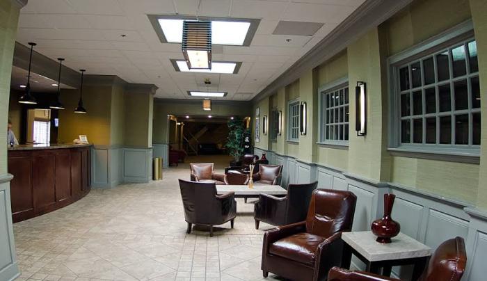 New Hartford Hotel lobby