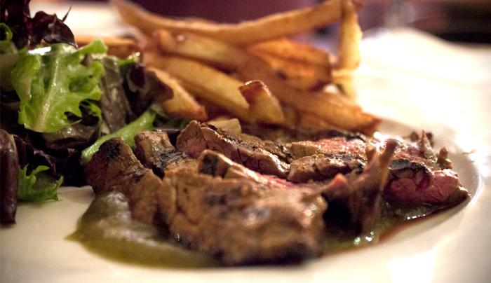 One Caroline Restaurant - Steak Frites