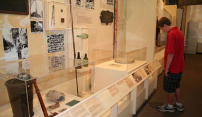 Saratoga Springs History Museum Orientation Exhibit