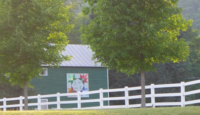 Schoharie County Quilt Barn Trail - Photo by Ginny Schaum Courtesy of Schoharie County Quilt Barn Tr