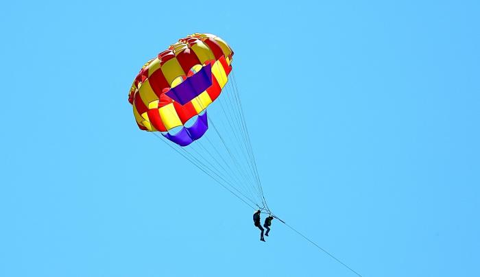 Lake George Parasailing - Photo Courtesy of Warren County Tourism