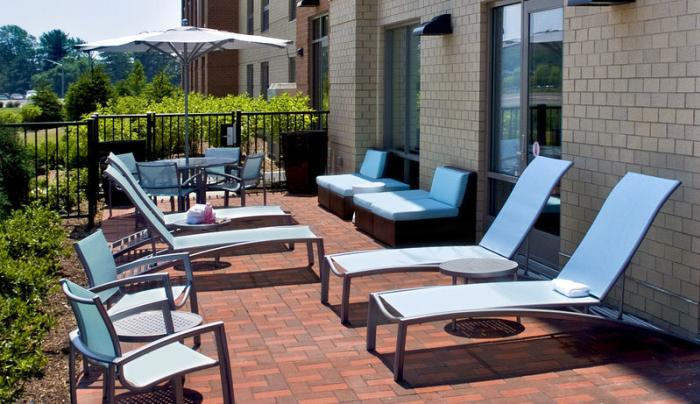 Outdoor patio, open seasonally