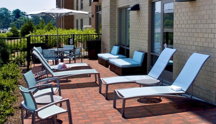 Outdoor patio, open seasonally