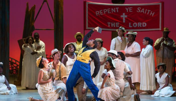 Porgy and Bess group, Credit Karli Cadel/The Glimmerglass Festival